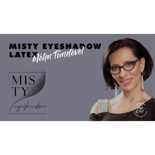 Misty Eyeshadow PMU demonstration on latex - Tünde Méhn