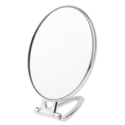 Handheld Mirror Vanity Double Sided Magnifying Make Up Face Mirror